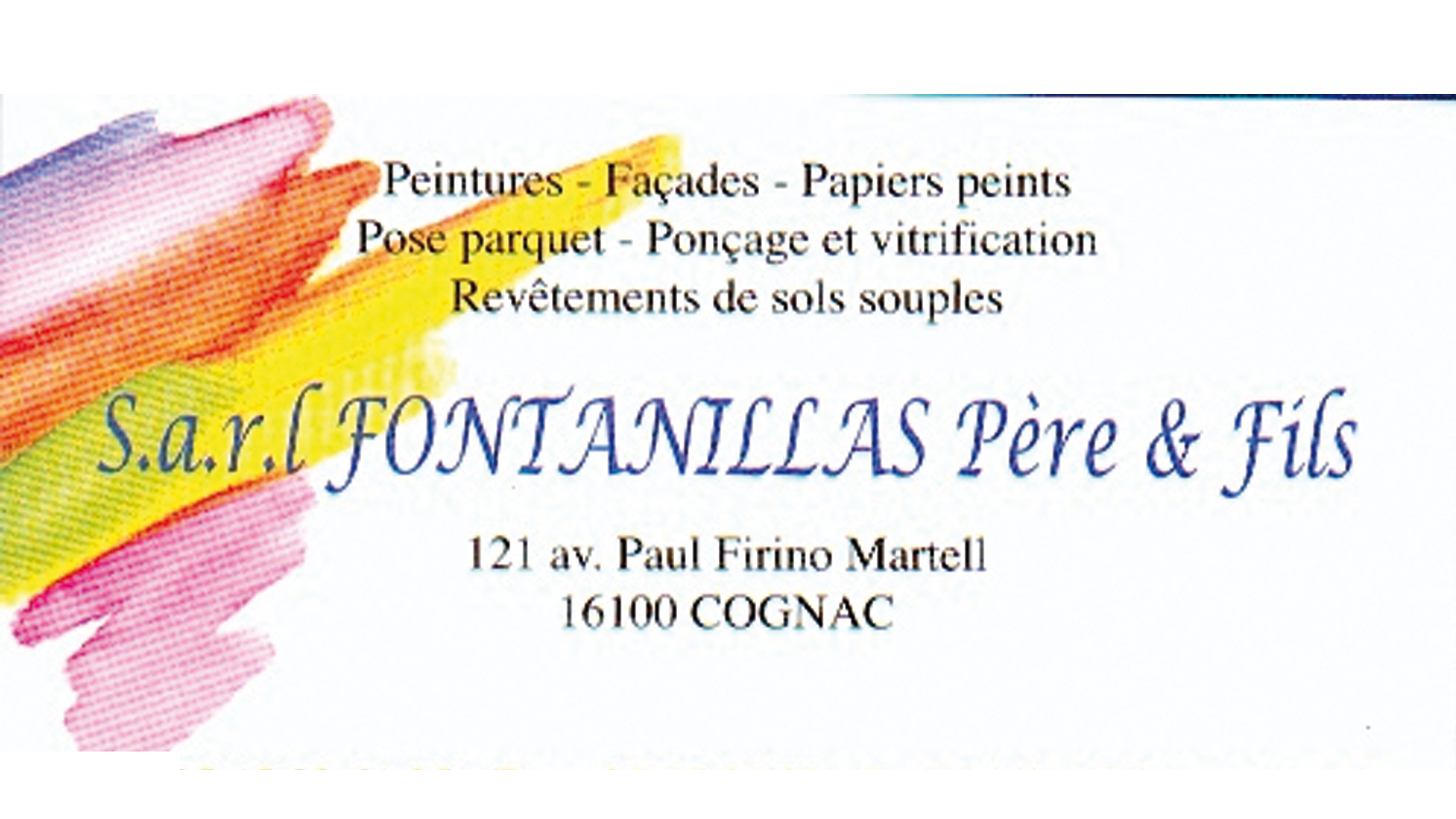Peinture FONTANILLAS